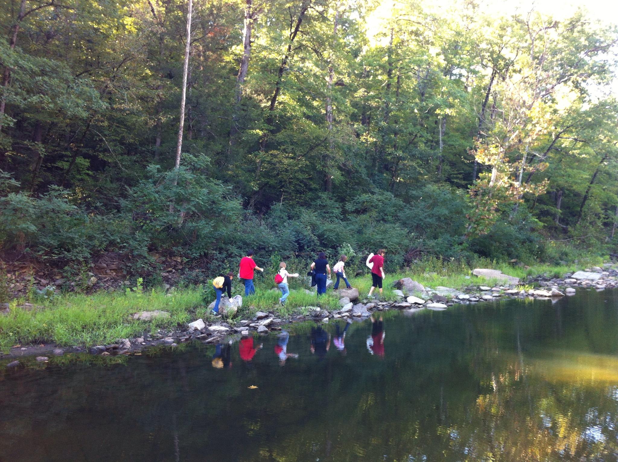 Lee Creek Cleanup 2012